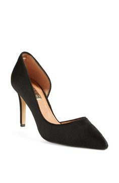 Halogen® 'Marlie' Calf Hair Pointy Toe Pump (Women) available at #Nordstrom #noshoppingsummer #alltheshoppingfall