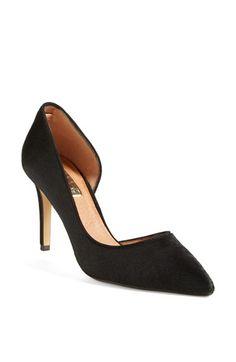 Halogen® 'Marlie' Calf Hair Pointy Toe Pump (Women) available at #Nordstrom #noshoppingsummer #alltheshoppingfall