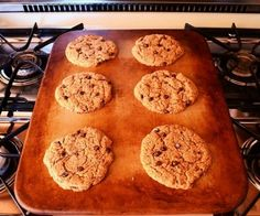 Maple almond butter chocolate chip cookies. Gluten free, dairy free, sugar free, flour free.