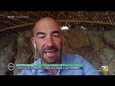 """Coronavirus, Matteo Bassetti: """"Oggi il numero dei tamponi è alto, ci son... Youtube, Youtubers, Youtube Movies"""