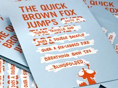 The quick brown fox is tired of jumping over the same lazy ass dog all the time. So he decided to take matters into his own hands and switch up the pangram a little. He took some liberties.  Print ...