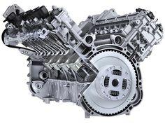 V8 motor block