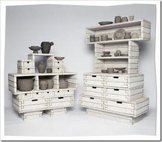 Móveis Construídos com Jornais