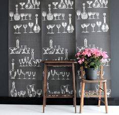 Deborah Bowness Wallpaper. | Yellowtrace — Interior Design, Architecture, Art, Photography, Lifestyle & Design Culture Blog.