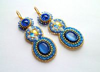 "Gallery.ru / burzalova-kseniya - The album ""Collection"" Earrings / Clip """""