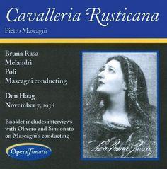 Pietro Mascagni: Cavalleria rusticana [CD]