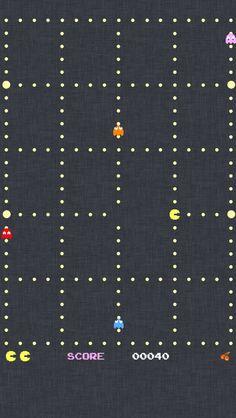パックマン iPhone5壁紙