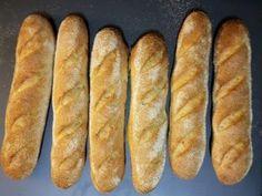 Recept z kvásku: Francúzske bagety - DANIELA RAU Hot Dog Buns, Hot Dogs, Bread, Food, Brot, Essen, Baking, Meals, Breads