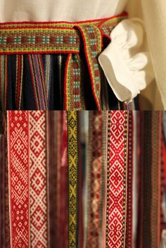 Belts from the crafts exhibition