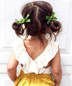 Style... Little Girl Hairstyles, Cute Hairstyles, Toddler Girls Hairstyles, Baby Girl Fashion, Toddler Fashion, Kids Fashion, Toddler Girl Style, Toddler Dance Hair, Toddler Ballet Outfit