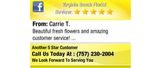 Beautiful fresh flowers and amazing customer service!