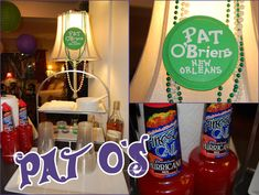 Mardi Gras Part II: Food & Drinks | Kendall's Entertaining Life