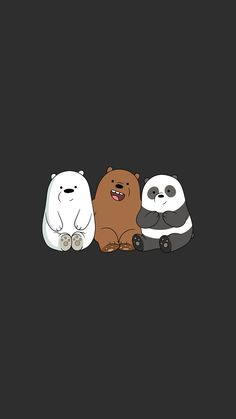 we bare bears wallpaper for iphone x assthetic bare bears