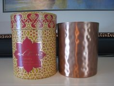 Altru Artistry Candle Masala Chai Fragrance in Hammered Copper Holder New #candlesandmore   $44.99