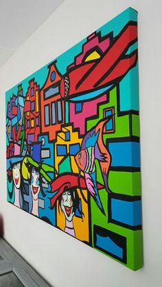 City ladies 80x120x4cm