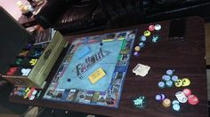Best Geeky Birthday Present Ever: Fallout Monopoly Wife Birthday, Birthday Gift For Him, Birthday Presents, Monopoly Board, Monopoly Game, Custom Monopoly, Video Game Crafts, Surprises For Her, What Is Bitcoin Mining