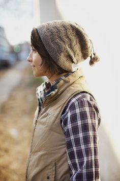 Modèle de tricot - Brooklyn Tweed Bonnet NORBY
