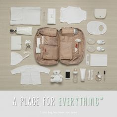 Storksak Elizabeth Changing Bag 'A Place For Everything...'