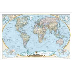 World classic pacific centered wall map by national geographic world classic pacific centered wall map by national geographic society national geographic society wall maps and products gumiabroncs Image collections