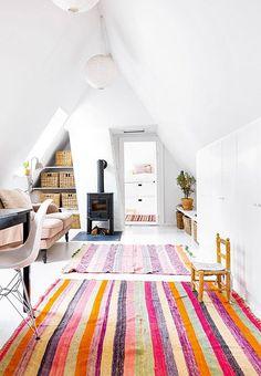 at home with: designer trine skoller.
