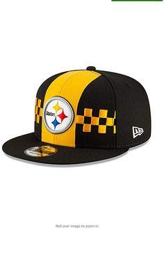 New Era Pittsburgh Steelers NFL Official 2019 Draft Snapback Hat Nfl Logo, Team Logo, All Nfl Teams, New Era Logo, Snap Backs, Hat Making, Pittsburgh Steelers, Snapback Hats, Contrast
