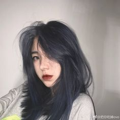 Discover recipes, home ideas, style inspiration and other ideas to try. Dye My Hair, New Hair, Tumbrl Girls, Pretty Hair Color, Hair Color Blue, Color Red, Aesthetic Hair, Kim Jisoo, Pretty Hairstyles