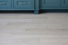 White washed faux wood tile flooring