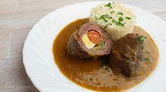 DOMA navařeno: Španělský ptáček Baked Potato, Potatoes, Beef, Baking, Ethnic Recipes, Food, Cooking, Meat, Bakken
