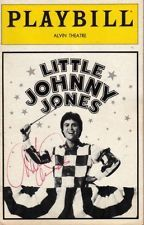 "Donny Osmond Playbill ""Little Johnny Jones"" 1982 FLOP SIGNED by Marie Osmond"