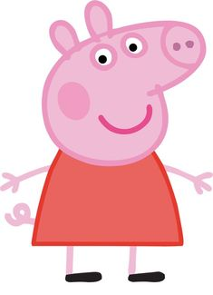 Experts alert: Don& let your child watch the Peppa Pig fairy tale! Peppa Pig Cartoon, Peppa Pig Images, Bolo Da Peppa Pig, Cumple Peppa Pig, Peppa Pig Painting, Peppa Pig Drawing, Peepa Pig, Peppa Pig Printables, Dinosaur Printables