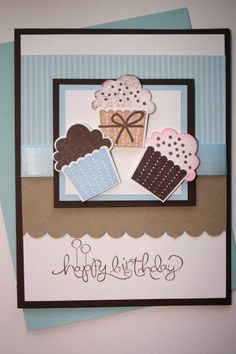 Cup Cakes All Around by gail3 - Cards and Paper Crafts at Splitcoaststampers