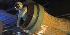 Mollett Early Spaceflight Gallery   Pictured a genuine Voskhod spacecraft.