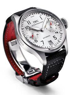 Men watches: IWC - Big Pilot's Watch Edition DFB. Pure elegant design.