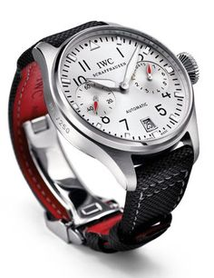 Men watches: IWC - Big Pilot's Watch Edition DFB. Pure elegant design.