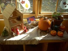 Our Nature Table by melody lisa, via Flickr