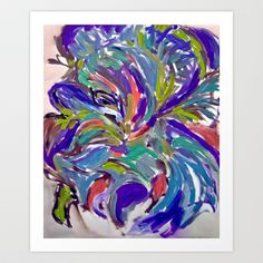 Abstraction Art Print by Gabriela Fuente