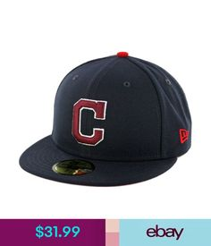 """Hats Era 59Fifty """"Team Twisted"""" Cleveland Indians Fitted Hat (Dnv) Men's Mlb Cap #ebay #Fashion"""