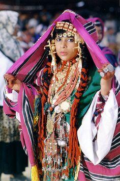 Africa | Gadames girl. Libya.