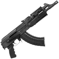 """100% made in the USA! C39 semiautomatic pistol 7.62x39mm, 11.38"""" barrel, 30-round capacity. Comes with two, US-made magazines. Get it for $615.94 by clicking the picture."""