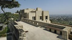 Frank Lloyd Wright's Ennis House