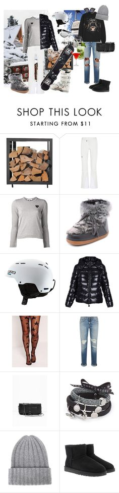 """""""Ski"""" by amandasjovall ❤ liked on Polyvore featuring Peak Performance, Comme des Garçons, IKKII, Chanel, Giro, Moncler, Missguided, Rossignol, rag & bone and Givenchy"""