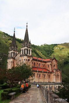 Monasterio de Covadonga. Asturias.
