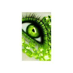 Vampire green eyes