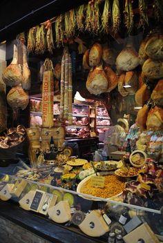 Bologna, Italy - The Quadrilatero Food Market
