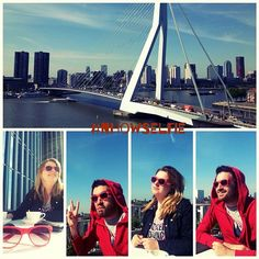 "@papadopoulos_k's photo: ""#nhowselfie #thisisnhow #rotterdam #erasmusbridge #red #sunglasses #sun #picoftheday #photooftheday"""