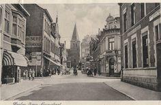 Oranje Nassaustraat richting kerk