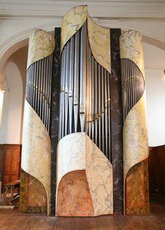 Tours, Temple de l'Eglise Réformée, Orgue neuf 2007 - Remy Mahler Facteur d' Orgeus