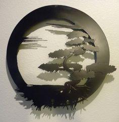 Bonsai árbol No.3 de la vida