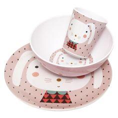 Melamine Petit Jour Paris Baby Plates Various Designs Large Assortment 8 Inch