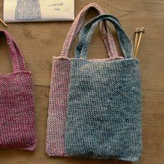 crochet : tote bag M